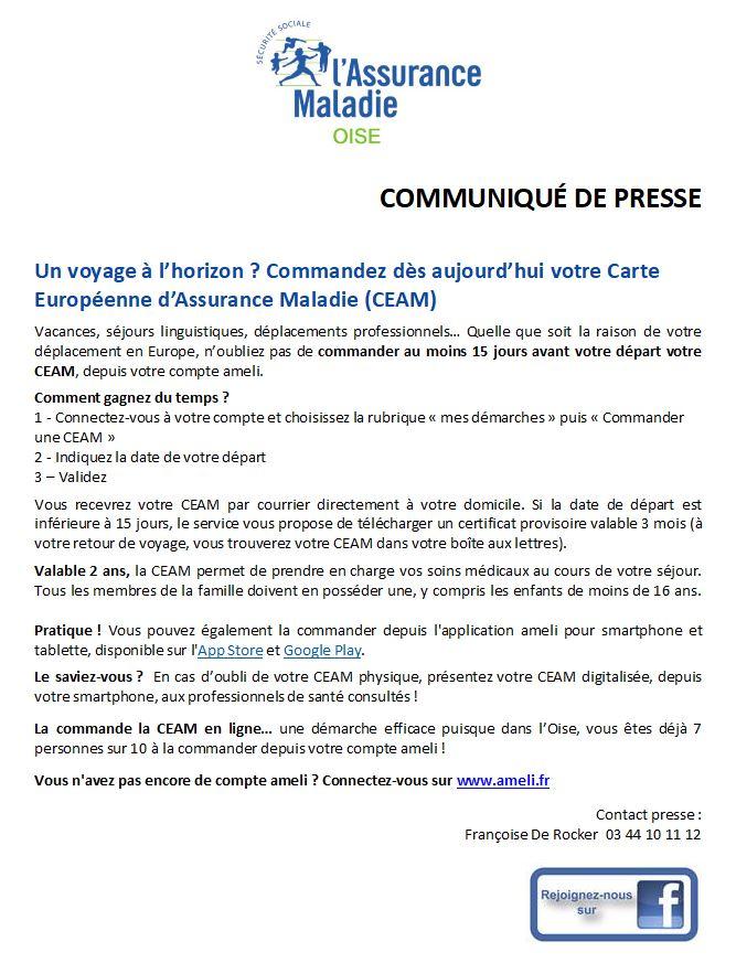 Carte Europeenne Dassurance Maladie Imprimer.Cpam Carte Europeenne D Assurance Maladie